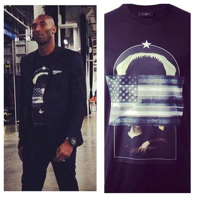 Kobe-Bryant-Givenchy-Collage-Print-T-shirt