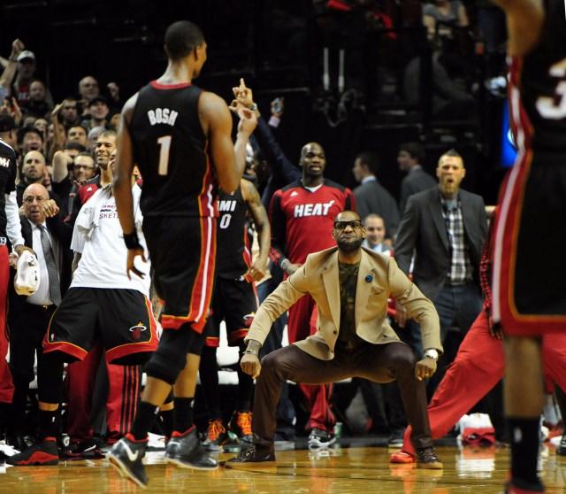 USP NBA: MIAMI HEAT AT PORTLAND TRAIL BLAZERS S BKN USA OR
