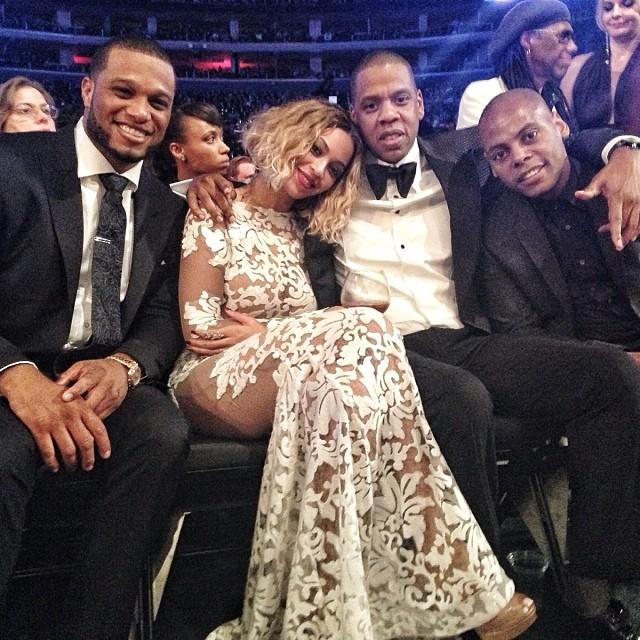 Robinson-cano-jay-z-beyonce-2014-Grammy-Awards-Grammys