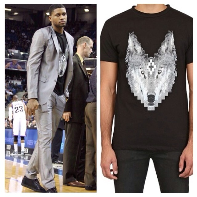 Rudy-Gay-Marcelo-Burlon-wolf-print-t-shirt