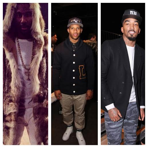Amare-stoudemire-Victor-Cruz-Jr-smith-New-York-Fashion-Week-FW-2014