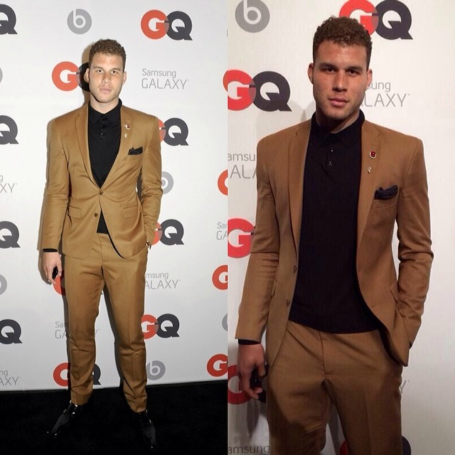 Blake-Griffin-GQ-ALL-Star-party-2014-NBA-All-Star-Weekend-mustard-suit-fashion
