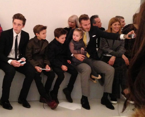 David-Beckham-NY Fashion-Week-fall-2014-Victoria-Beckham-show