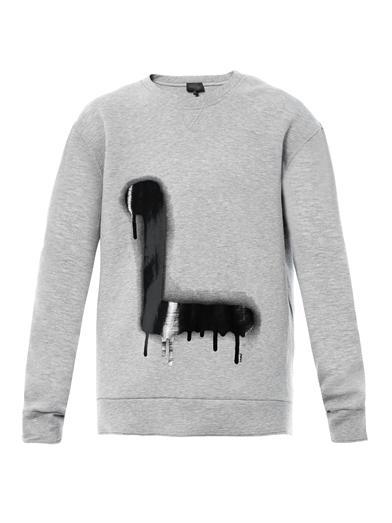 Lanvin-L-graffiti-print-sweatshirt
