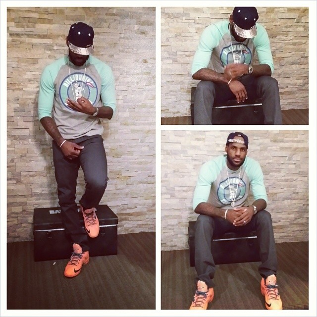 STYLE: Lebron James' Instagram Billionaire Boys Club Wealth Team Shirt