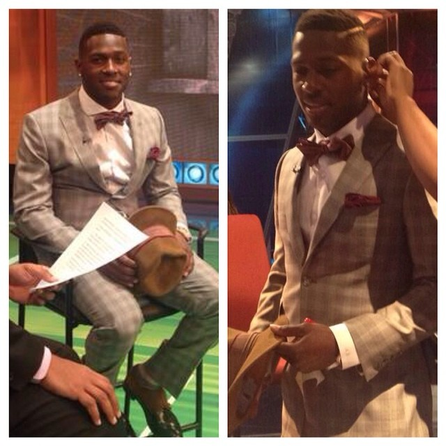 Antonio Brown Suit Suit La