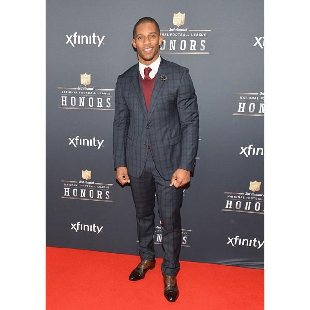 Victor-Cruz-2014-NFL-Honors-Lanvin-Spring-2014-suit