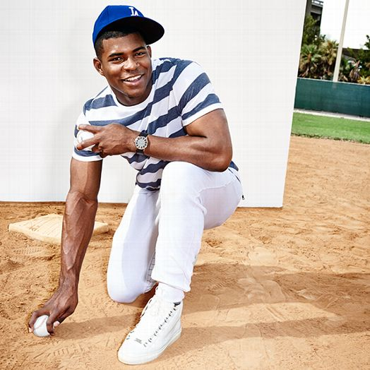 STYLE: L.A. Dodgers Yasiel Puig Covers ESPN The Magazine 'Cuba' Issue