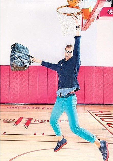 STYLE: NBA Chandler Parsons For ESPN The Magazine March 2014