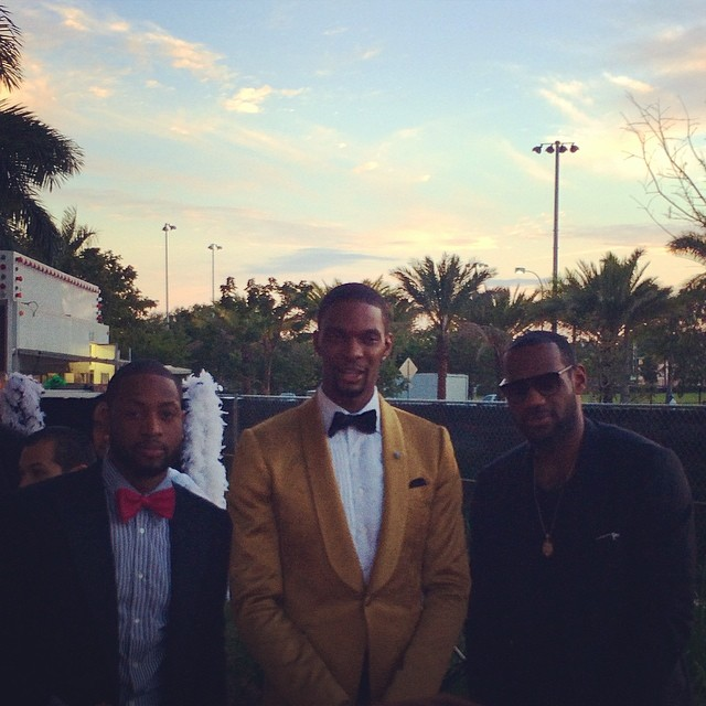 Chris-Bosh-Instagram-30th-Birthday-2014-celebration-Lebron-James-Dwyane-Wade