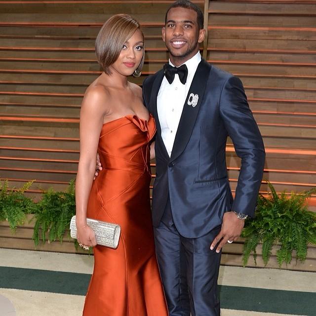 STYLE: NBA Chris Paul's 2014 Vanity Fair Oscar Party Ermenegildo Zegna Tuxedo