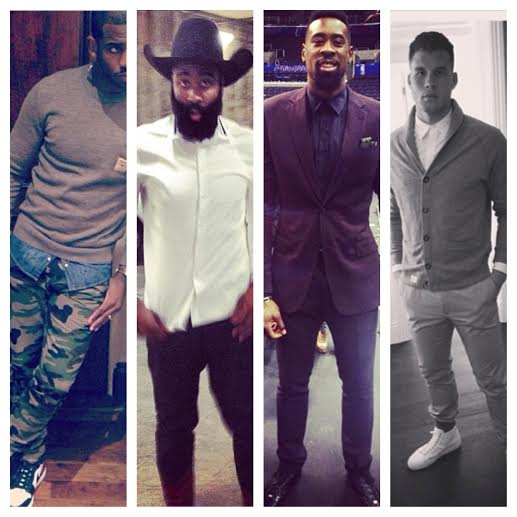 Chris-Paul-Deandre-Jordan-James-Harden-Blake-Griffin-Instagram