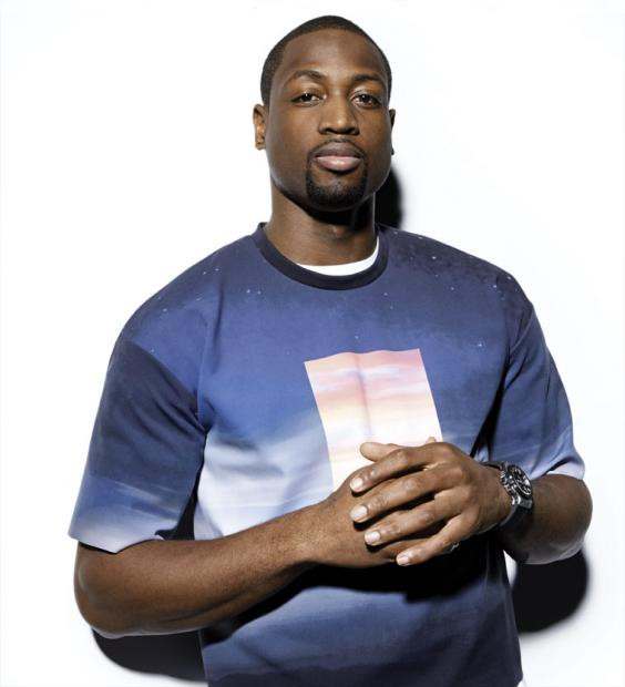 Dwyane-Wade-L-Equipe-Sports-&-style-Calvin-Klein-Collection-shirt