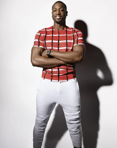 Dwyane-Wade-L-Equipe-Sports-&-style-Kenzo-shirt-grungy-gentleman-sweatpants