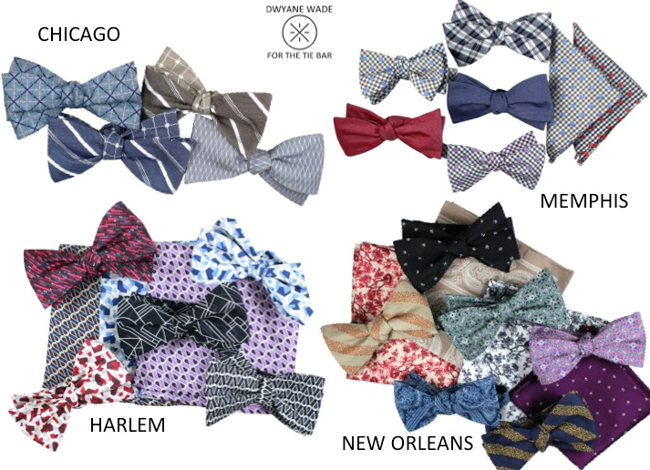 STYLE: NBA Dwyane Wade's Current Ties & Pocket Squares Collection Was Inspired By His Four Favorite Places
