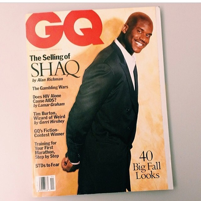 GQ-magazine-shaq-1993-cover