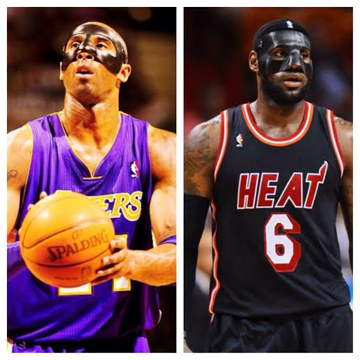 new arrival 211c7 3afa1 Mask Off: Kobe Bryant vs. Lebron James