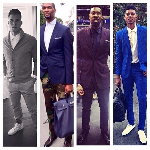 TREND: NBA Ballers Sport The Air Tie Look