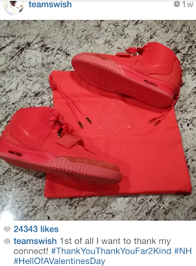 NBA-JR-Smith-instagram-Nike-Air-Yeezy-2-red-october