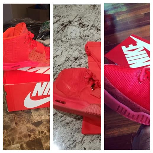"Victor Cruz, Chris Bosh & More Athletes Show Off Their Nike Air Yeezy II ""Red October"" Sneakers"