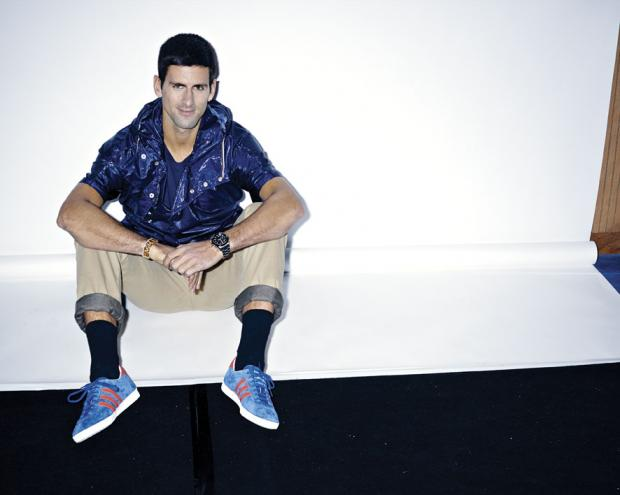 STYLE: Tennis Star Novak Djokovic Covers L'Equipe Sport & Style March 2014 Issue