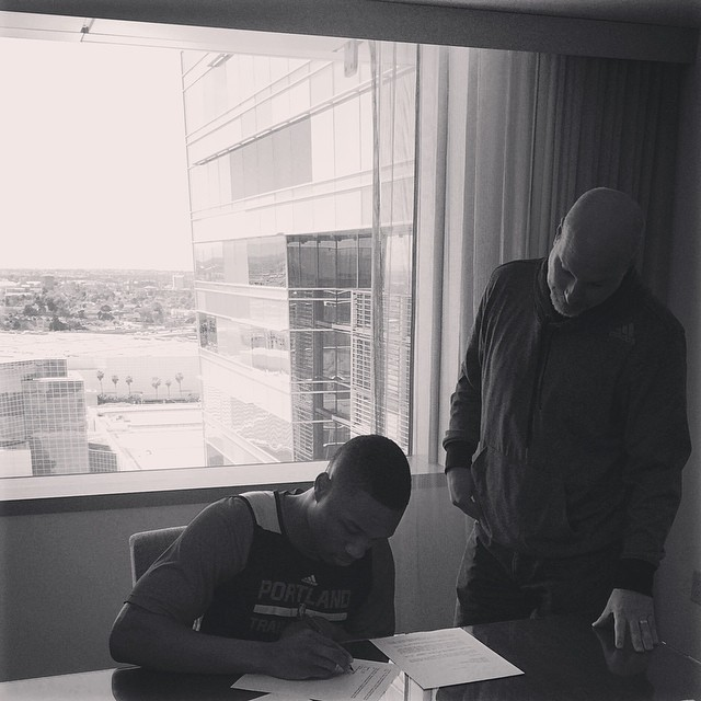 NEWS: NBA Damian Lillard Inks Huge Contract Extension With Adidas