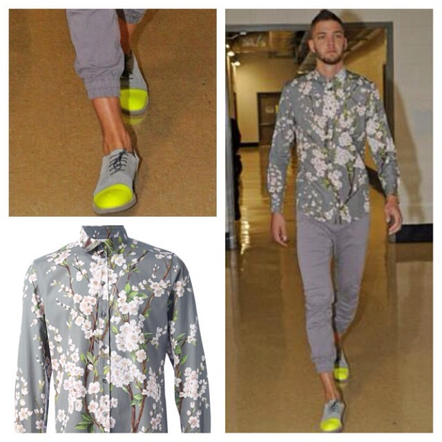 STYLE: Chandler Parsons' Dolce & Gabbana Floral Shirt 2014 NBA Playoffs Game 1, Rd. 1
