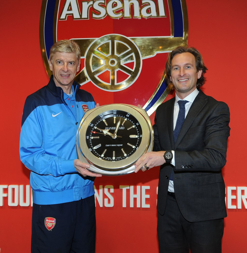 STYLE: JEANRICHARD Watches Partners With Arsenal F.C. Football Club