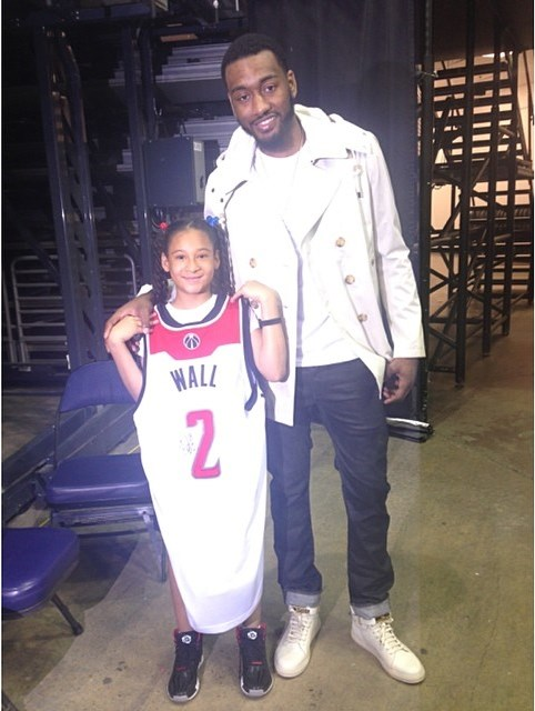 NBA star John Wall Helps Make Dreams Come True