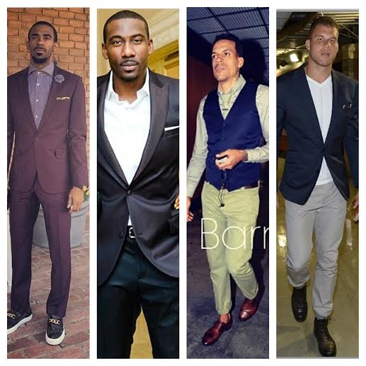 STYLE: Mike Conley Jr, Amar'e Stoudemire, Matt Barnes, Blake Griffin, Dwight Howard & More