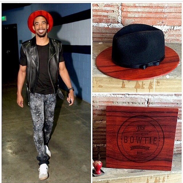 Mike-Conley-Jr-wooden-hat-wooden-fedora-hat-2014-nba-playoffs