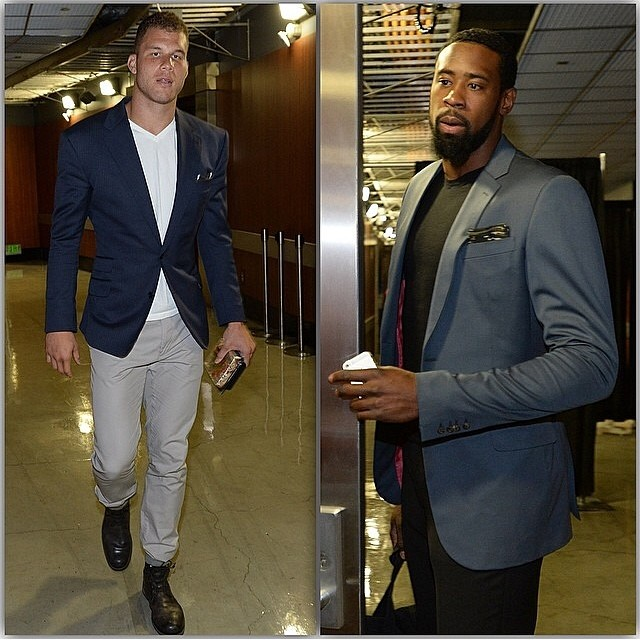 NBA-Blake-Griffin-Deandre-Jordan-instagram-fashion-style