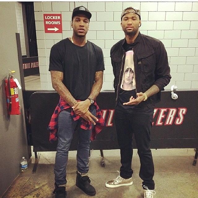 NBA-Thomas-robinson-demarcus-cousins-instagram-style-1