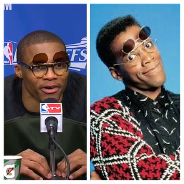 Russell-Westbrook-instagram-fashion-flip-up-glasses-2014-NBA-Playoffs-game-4-round-1-2