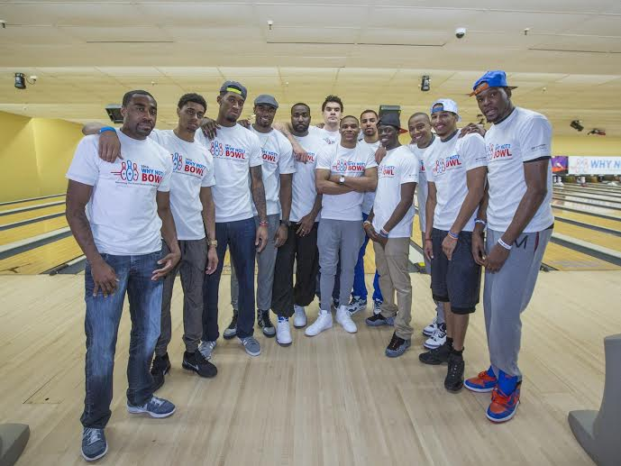 NBA Russell Westbrook Hosted Forth Annual Why Not? Bowl