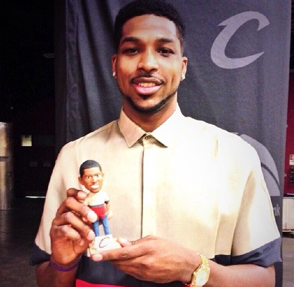 STYLE: NBA Tristan Thompson's Bobblehead Inspired By His Personal Style