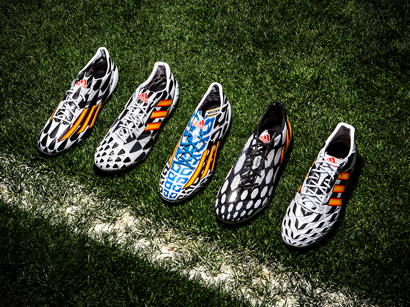 Adidas Debuts 2014 FIFA World Cup Battle Pack Collection