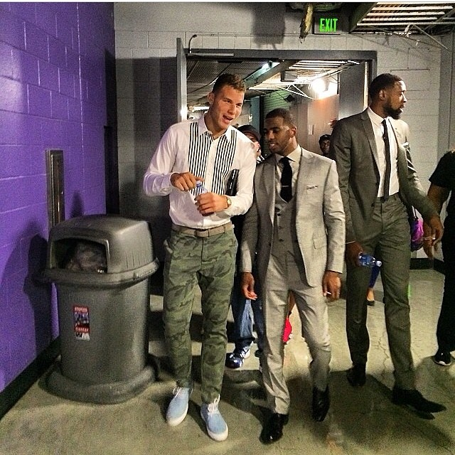 chris paul style - Tags More Than Stats: Athletes Fashion ...