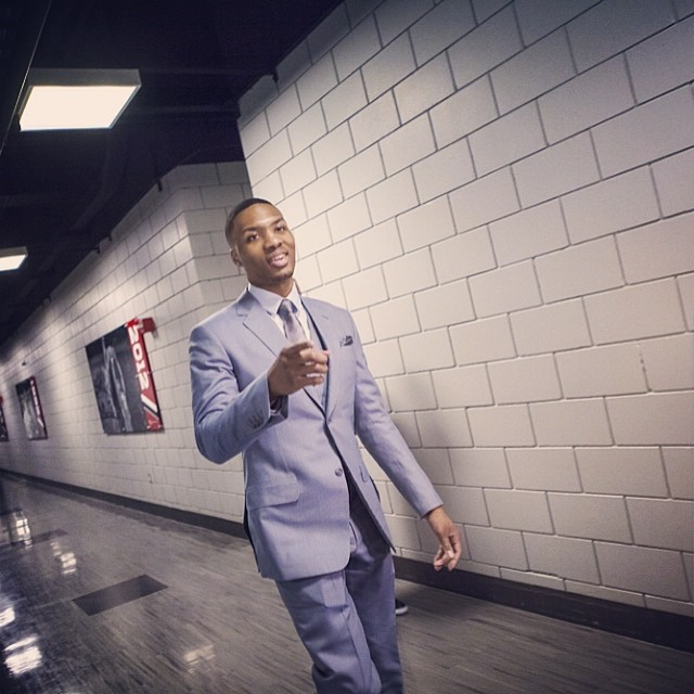 Damian-lillard-instagram-fashion-2014-NBA-Playoffs-game-5-round-2