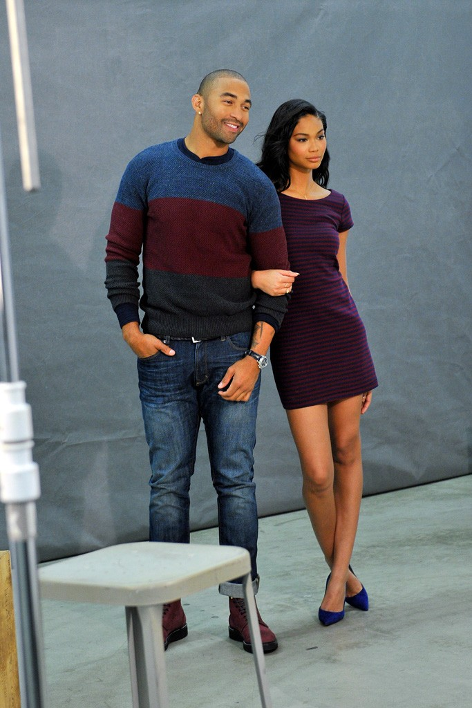 Matt-Kemp-chanel-iman-gap-outlets-fall-2014-campaign-1