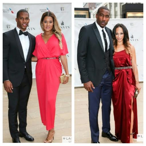 STYLE: NFL Victor Cruz & NBA Amar'e Stoudemire Dressed In Lanvin For American Ballet Theatre