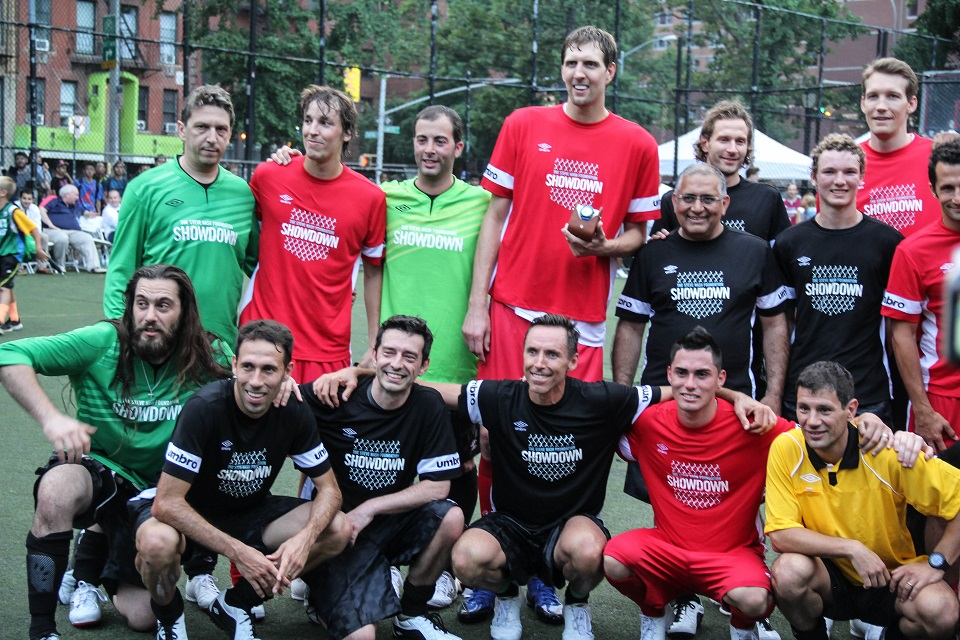 STEVE NASH Foundation 2014 Showdown Celebrity Soccer Game