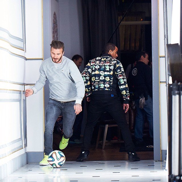 "Video: Footballers Beckham, Zidane, Bale and Lucas Moura Adidas House Match ""All In Or Nothing"" World Cup 2014 Commercial"