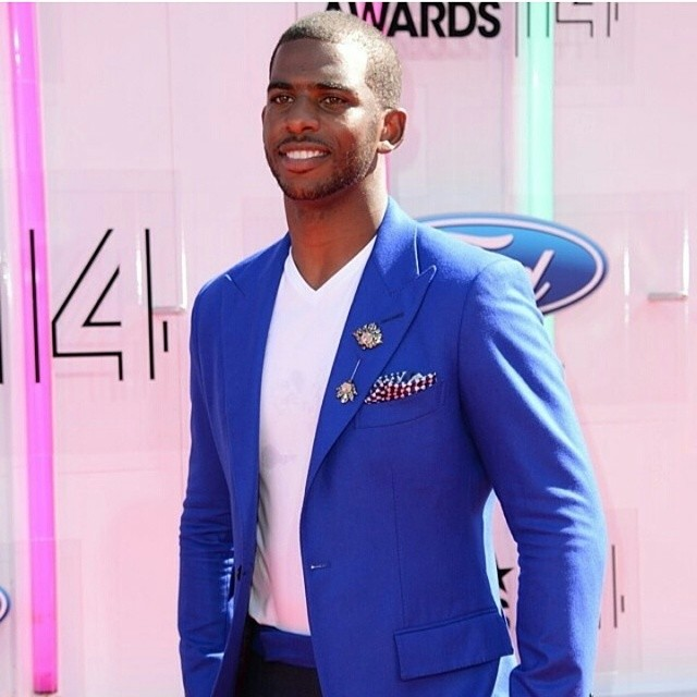 STYLE: NBA Chris Paul's 2014 BET Awards MUSIKA FRÉRE Suit