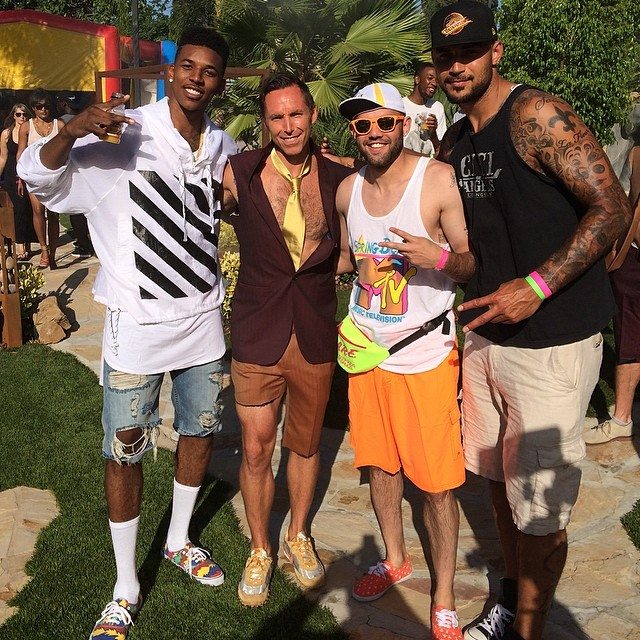 NBA Nick Young 90's theme Birthday Party