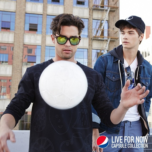 SYLE: First-Ever PEPSI 'Live For Now' Capsule Collection Inspired By World Cup 2014