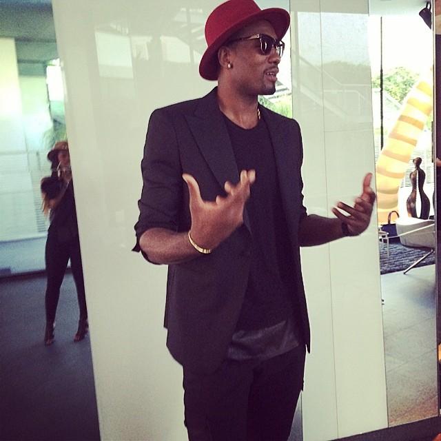 Serge-Ibaka-paris-fashion-week-rick-owens-spring-summer-2015