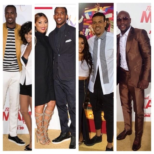 STYLE: Serge Ibaka, Chris Paul, Floyd Mayweather & More Attend Think Like A Man Too LA Premiere