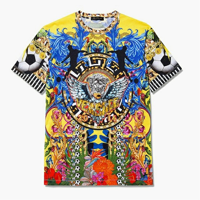 STYLE: Versace World Cup 2014 T-shirt
