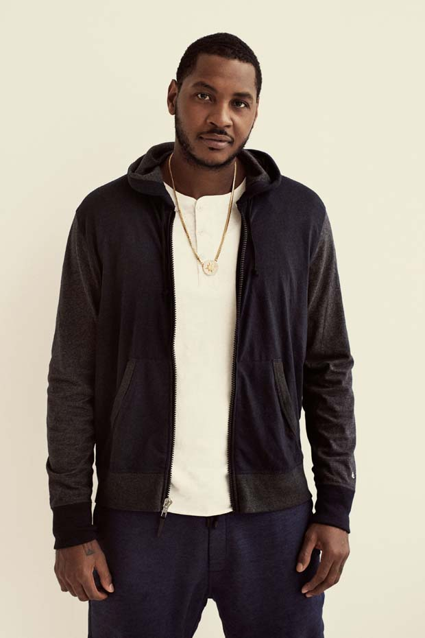 STYLE: Carmelo Anthony Models For Rag & Bone Spring/Summer 2015 Collection